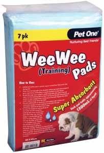 PET ONE TRAINING PADS