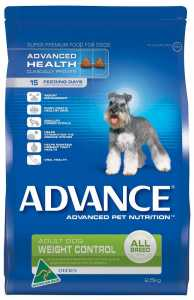 ADVANCE DOG WEIGHT