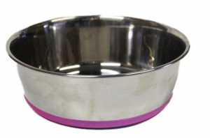 Slurp S/Steel Bowl Pink