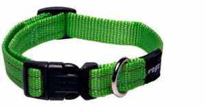 ROGZ COLLAR LEADS AND HARNESSES LIME