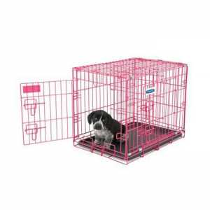 PETMATE PUPPY CRATE PINK 61CM