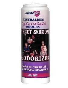 CARPET AND ROOM DEODORISER 500G