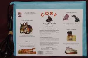 COSY HEATED ANIMAL PAD 260MMX 360MM