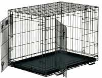 wire collapsible dog crate 91x59 x 65cm